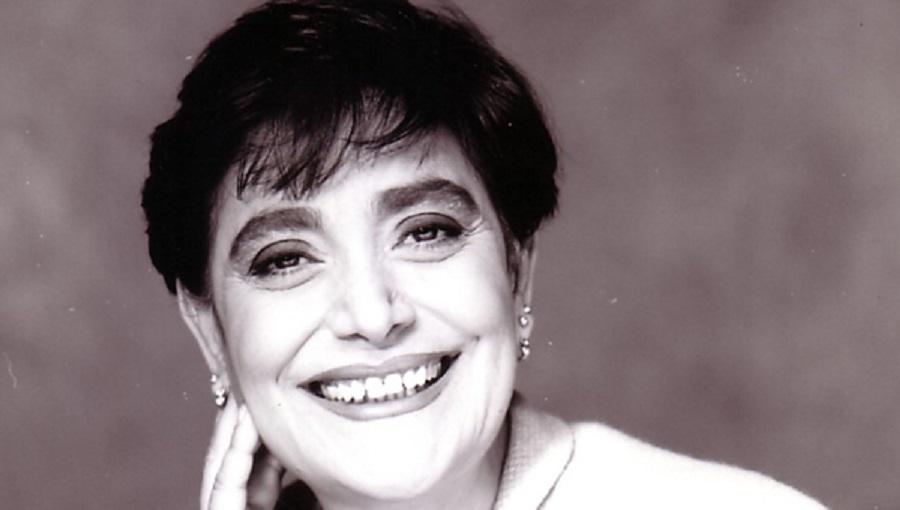 Foto storica della cantante italiana