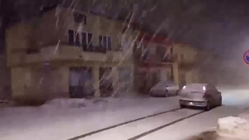 Neve a Bisaccia