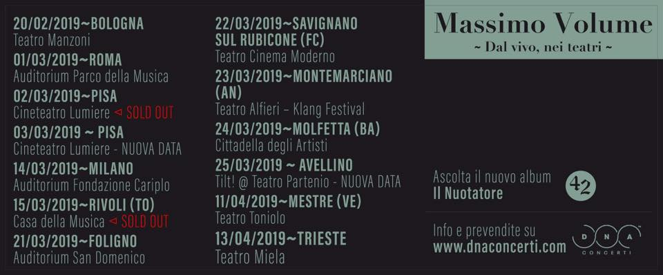 Massimo Volume tour