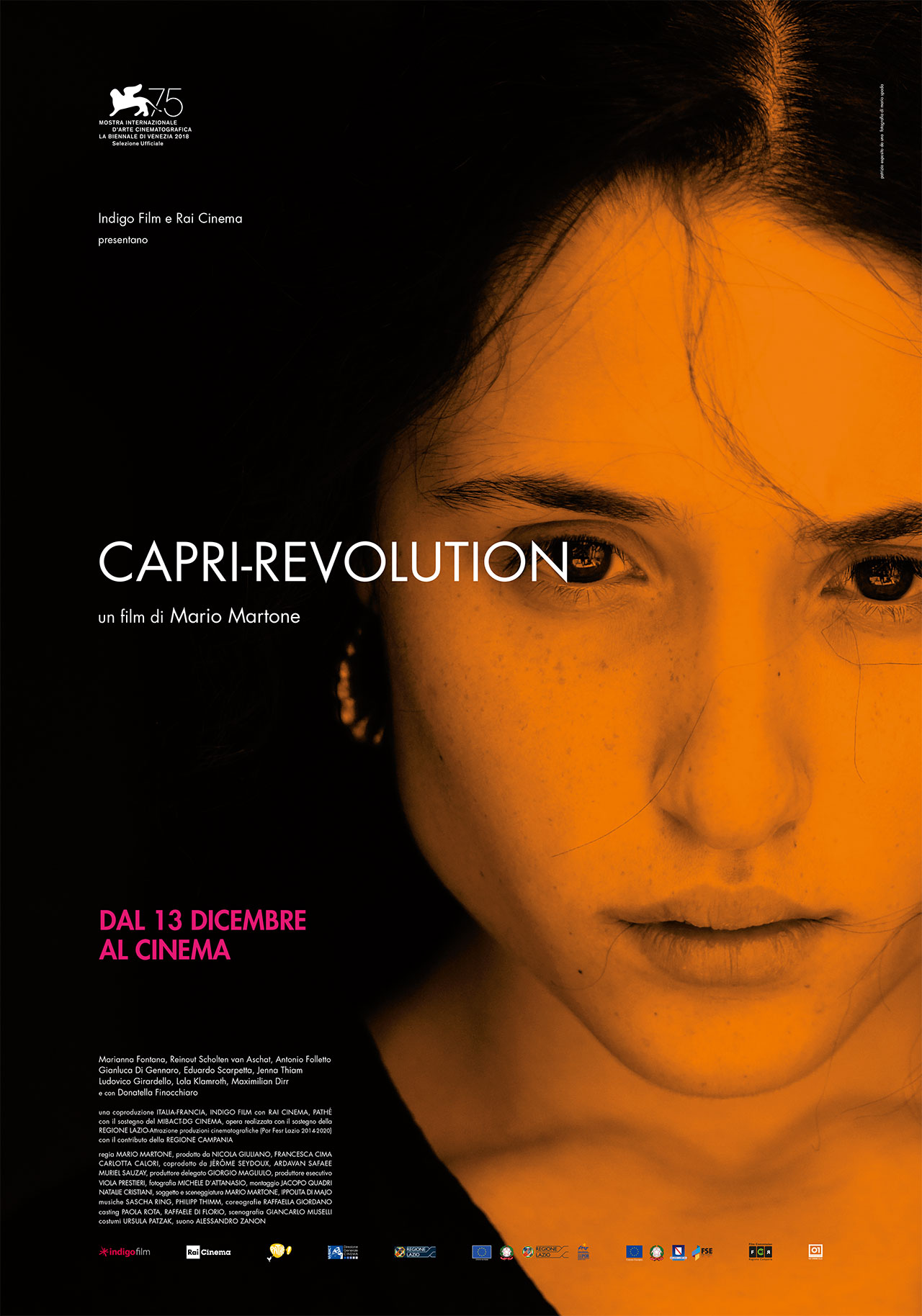 Capri Revolution: la locandina