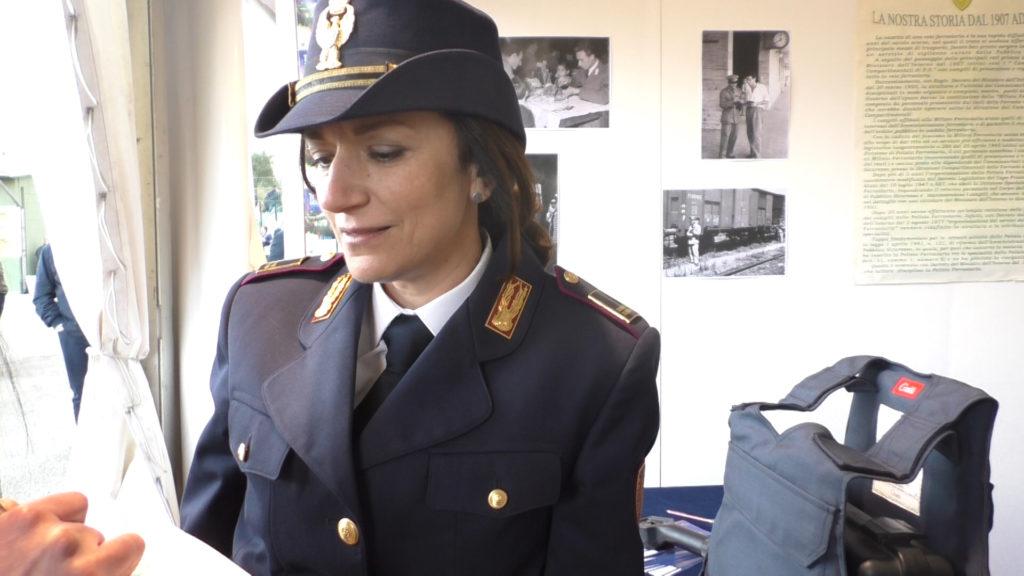 Gerarda Margarella: sovraintendente della Polizia ferroviaria