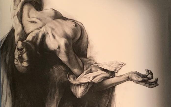 Maria Maddalena di Ernest Pignon
