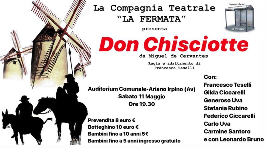 La Fermata si esibisce con il Don Chisciotte