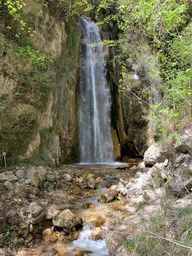 Riserva di Senerchia: cascata