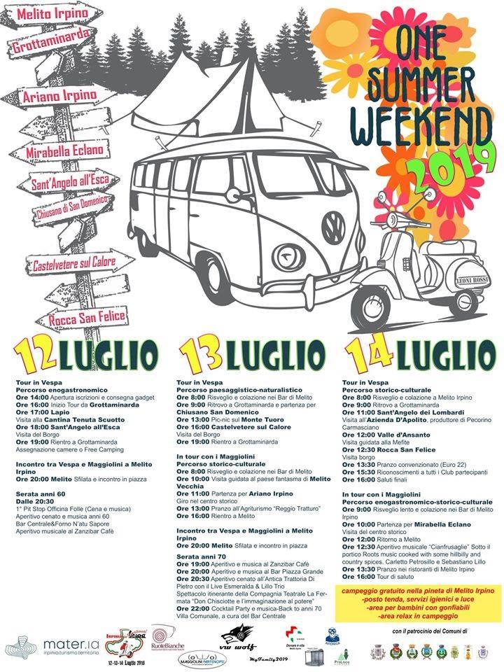 One Summer weekend: locandina