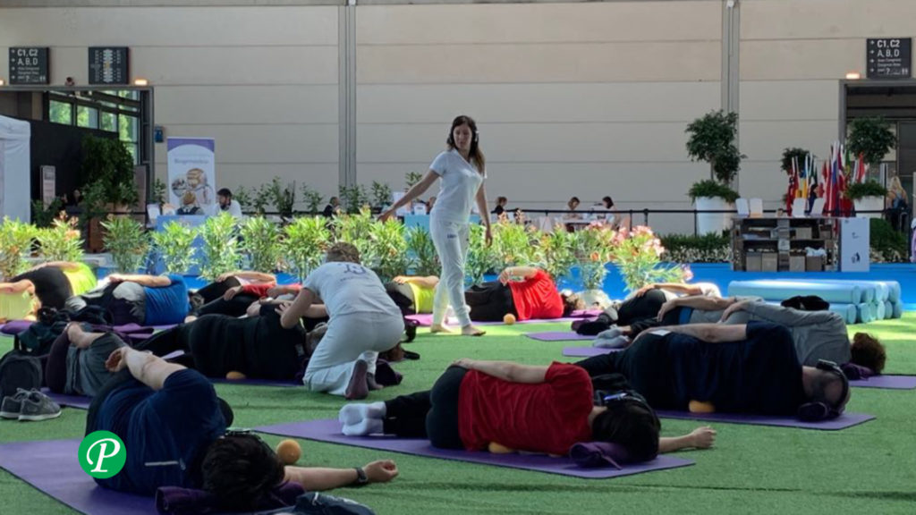 Bioginnastica a Rimini Wellness 2019