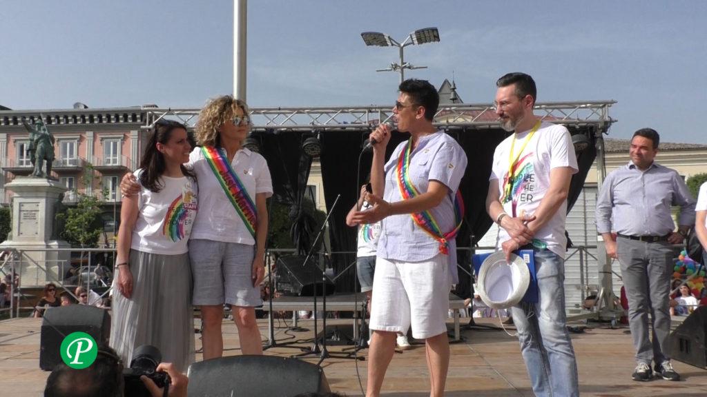 Le madrine dell'Abellinum Pride 2019