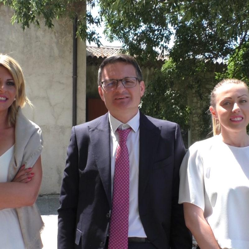 Marisa Graziano, Rocco De Luca e Marilisa Grillo: intervista