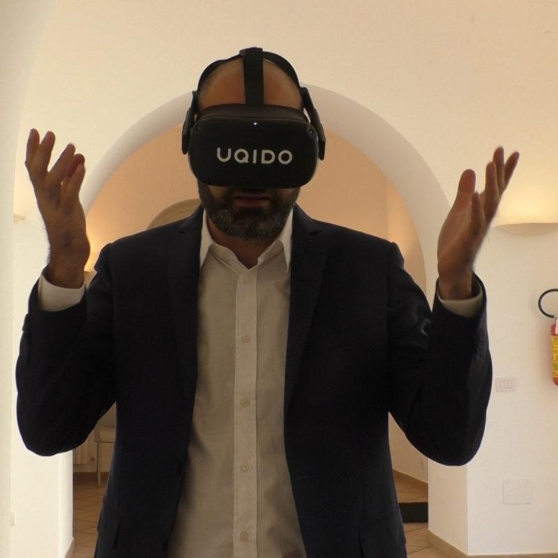 Oculus quest UQIDO: video