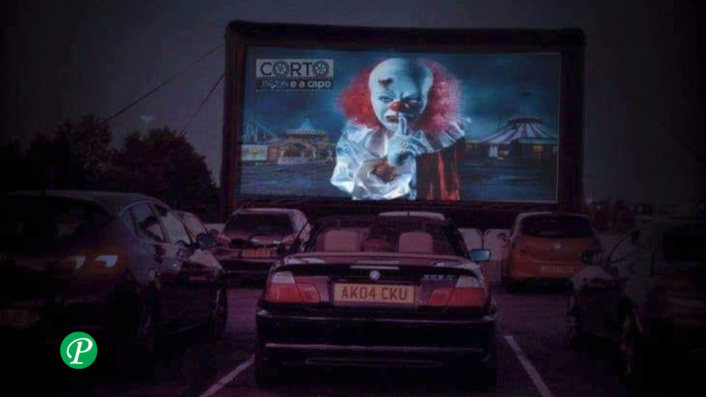 Halloween drive in: video