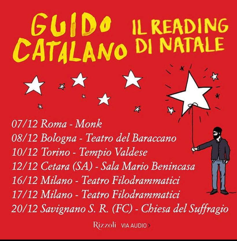 Guido Catalano reading 2019
