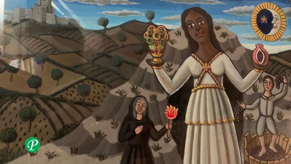 La dea Mefite di Gennaro Vallifuoco