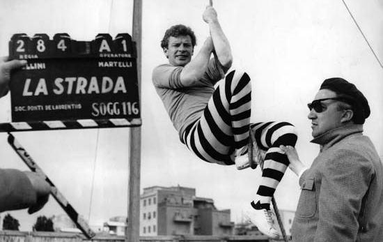 La strada di Federico Fellini