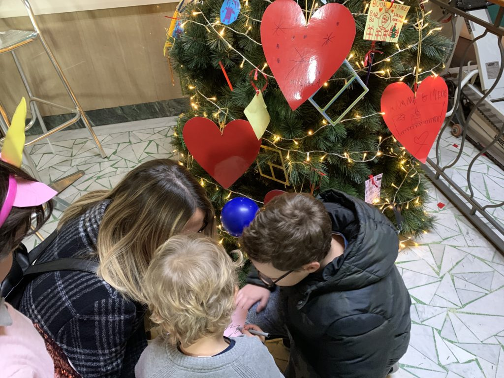 Albero di Natale al Cinema Partenio