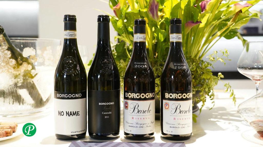 Vini Borgogno: mini verticale