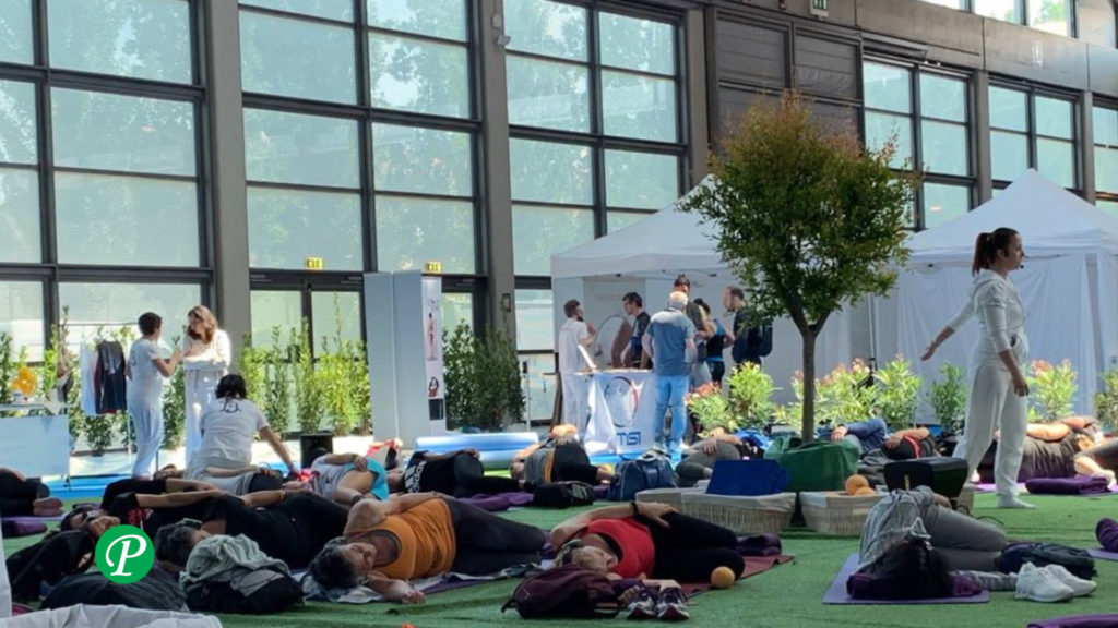 Seduta dimostrativa di Bioginnastica a Rimini