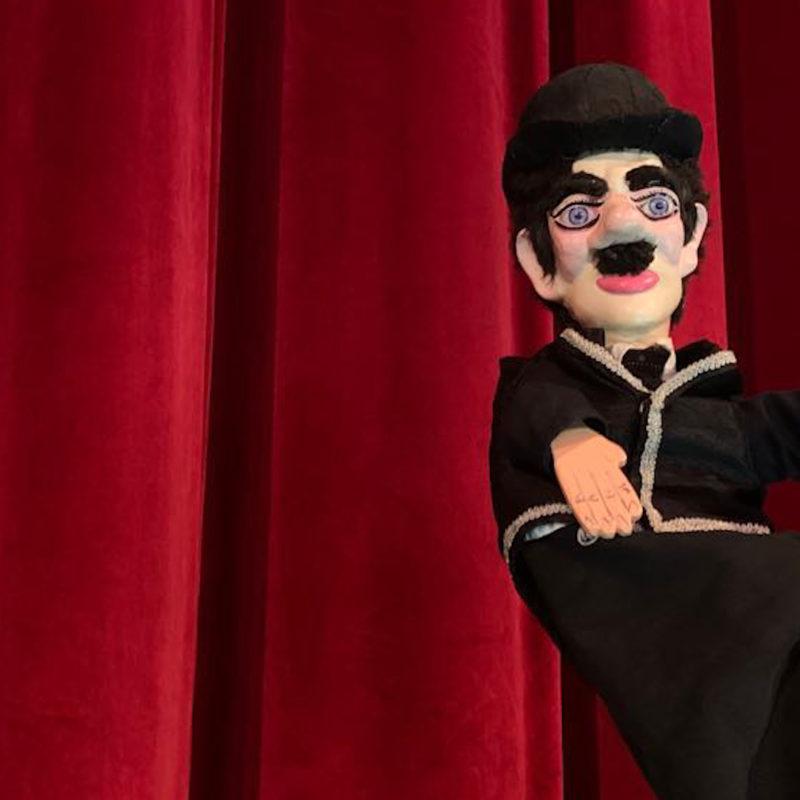 Charlie Chaplin: burattino Ferraiolo