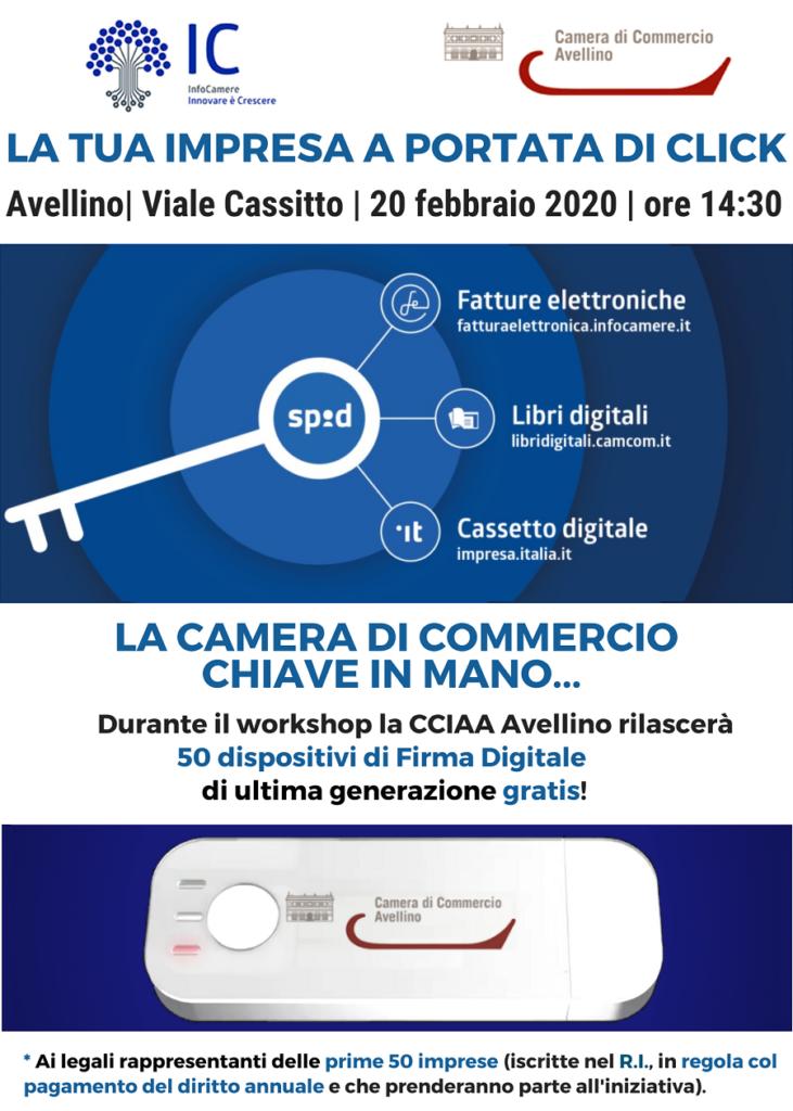 Workshop sui servizi digitali ad Avellino