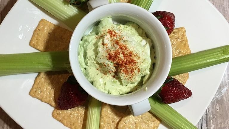 Hummus al pesto di basilico