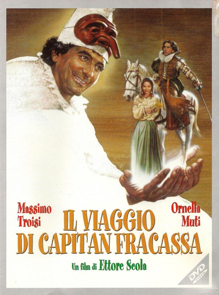 Il viaggio di Capitan Fracassa: locandina