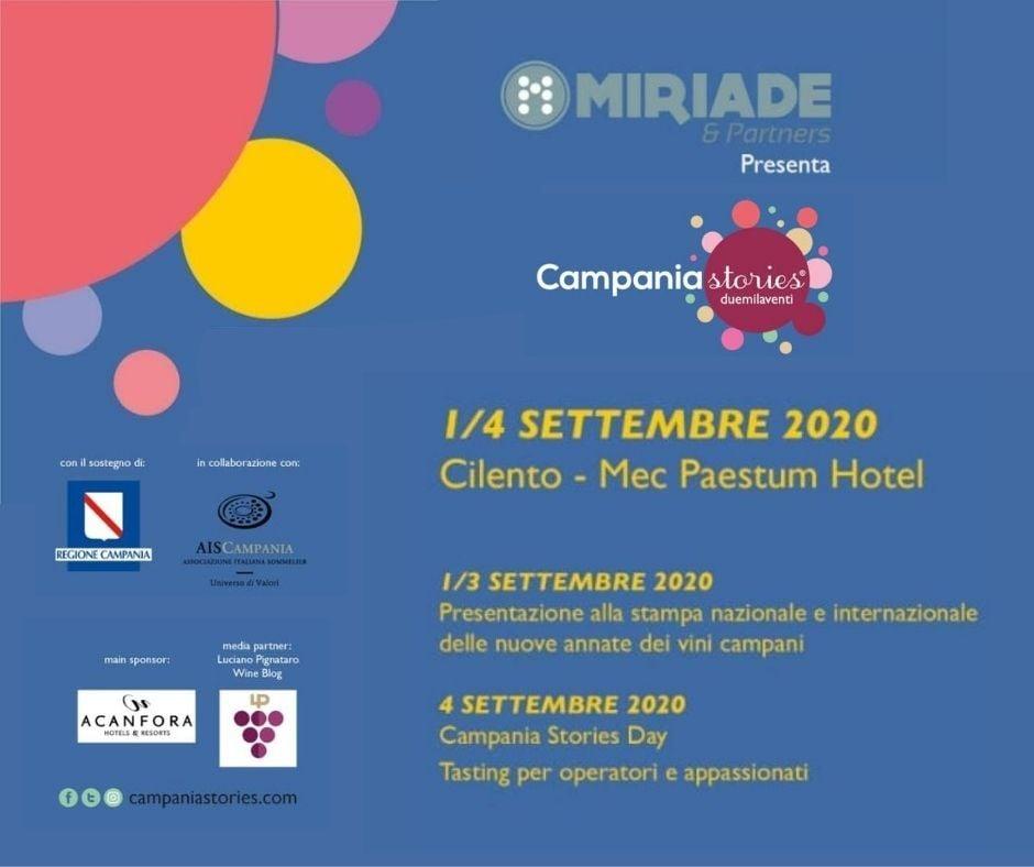 Campania Stories 2020 si svolgerà a Paestum