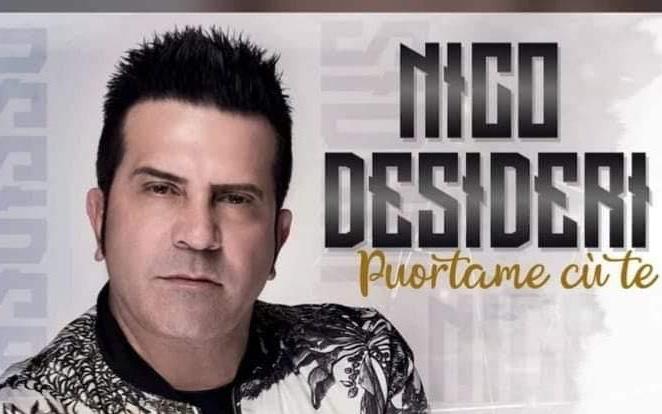 Nico Desideri in concerto al Gold Hotel di Marcianise