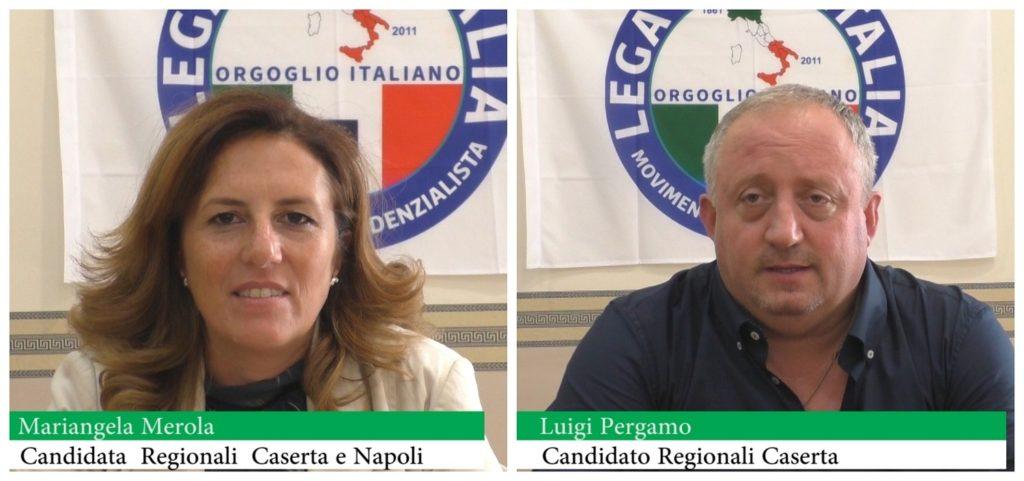 Mariangela Merola e Luigi Pergamo
