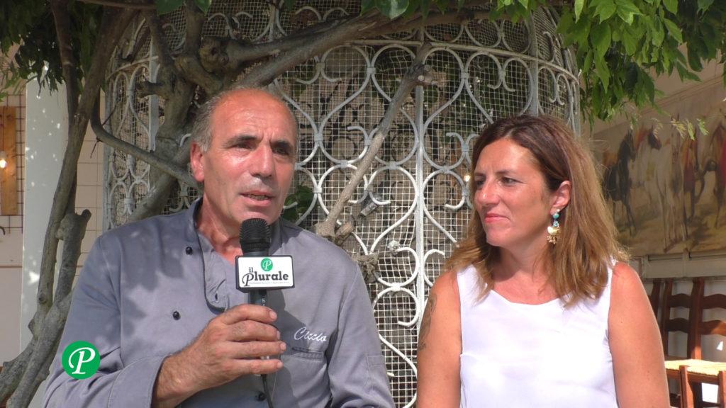 Francesco Sicignano e Mariangela Merola