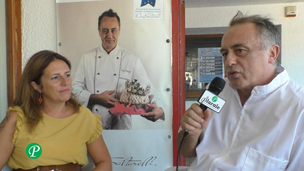 Dario Saltarelli e Mariangela Merola
