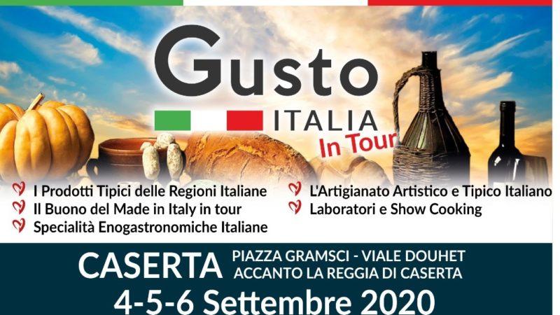 Gusto Italia in tour 2020: sesta tappa a Caserta