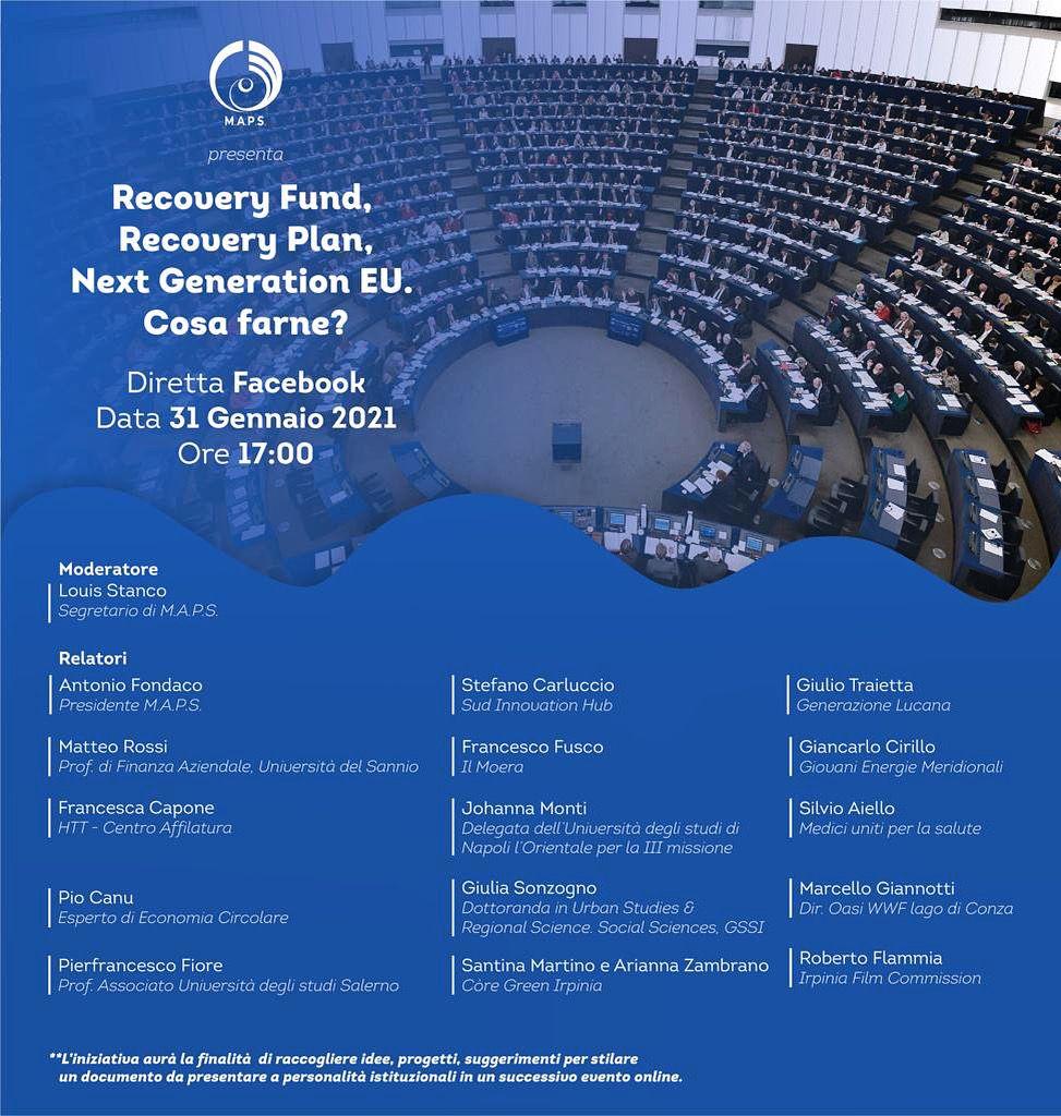 Maps- Movimento Attivo Politico e Sociale: incontro online