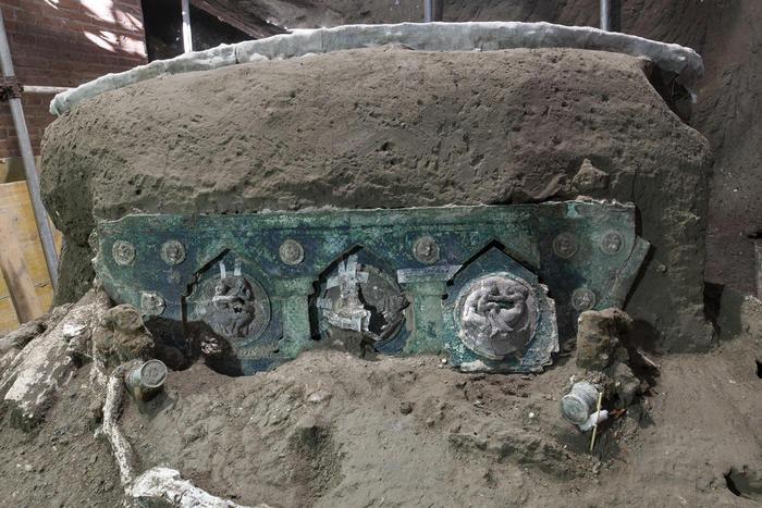 Nuovo reperto emerso a Pompei