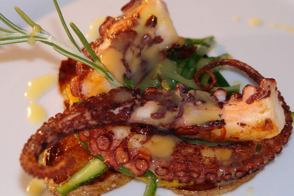 polpo marinato: la ricetta