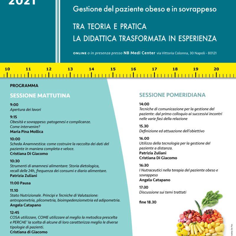 Nutrizione e sovrappeso: corsi