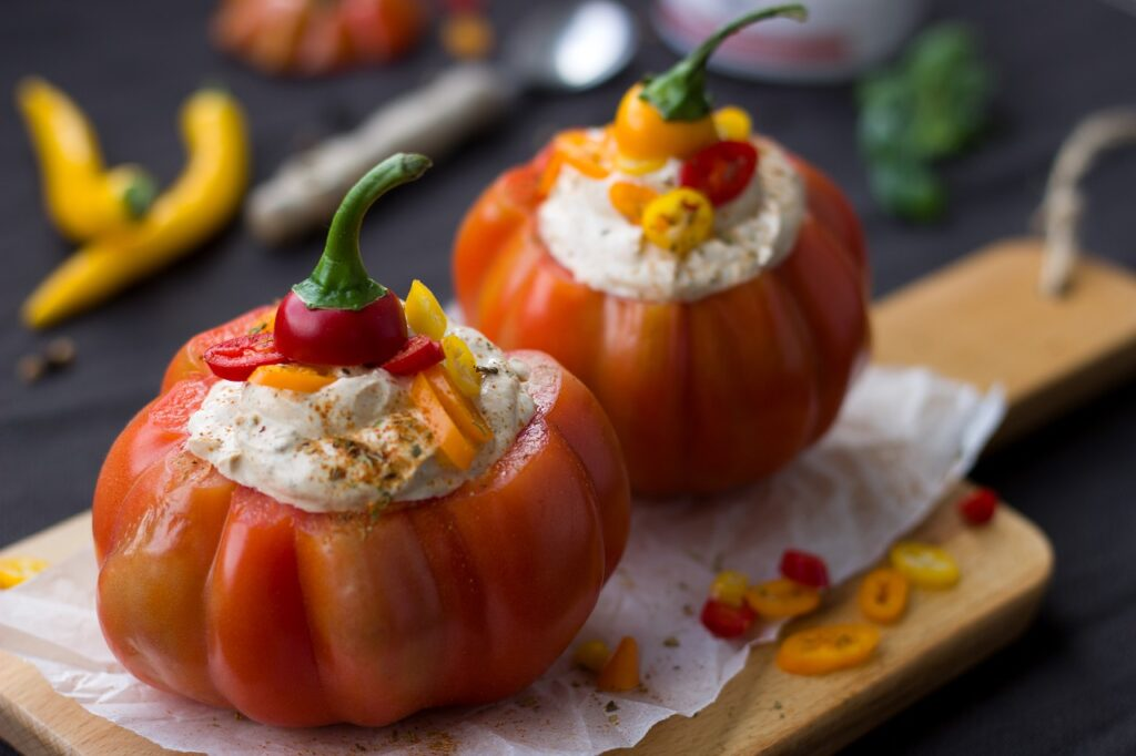 Pomodori ripieni: ricetta