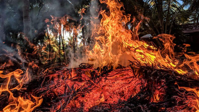 App per segnalare incendi