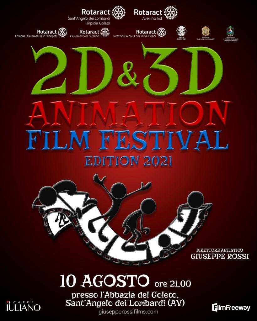 2D & 3D Animation Film Festival locandina