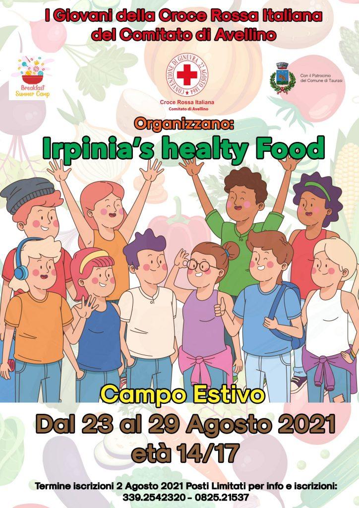 "Breakfast Summer Camp ""Irpinia's health food"