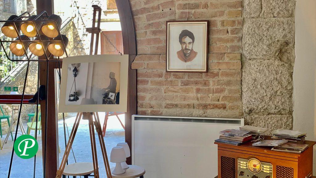 Il Castello D'Aquino caffè letterario di Grottaminarda dedica una sala a Domenico Carrara