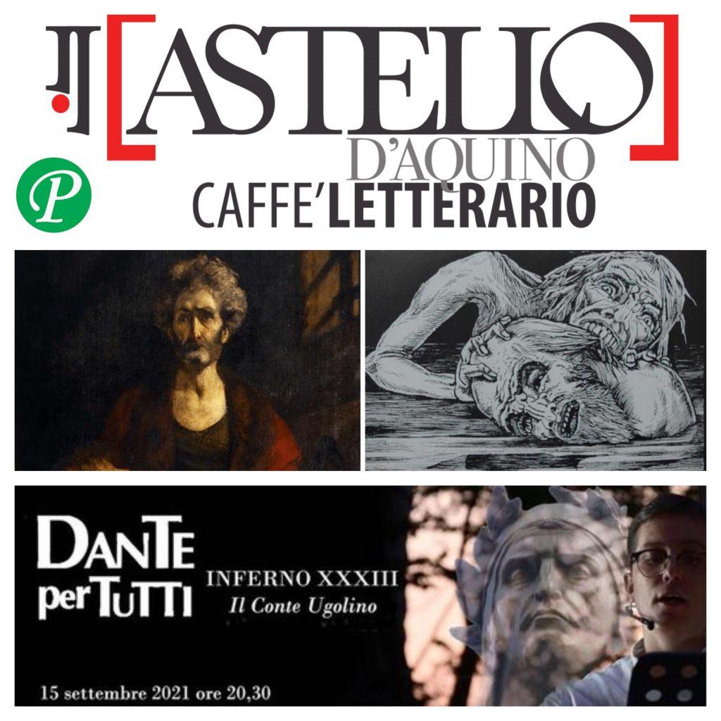 Appuntamento con Dante per tutti al Castello D'Aquino caffè letterario di Grottaminarda