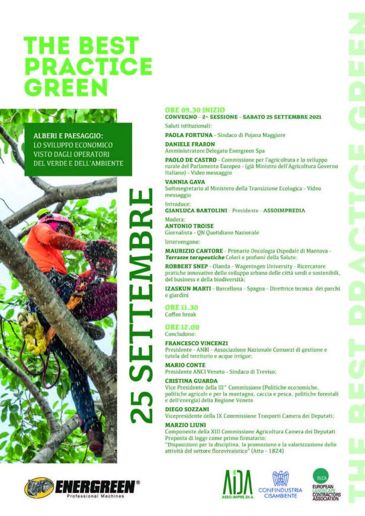 The best practice green: programma completo